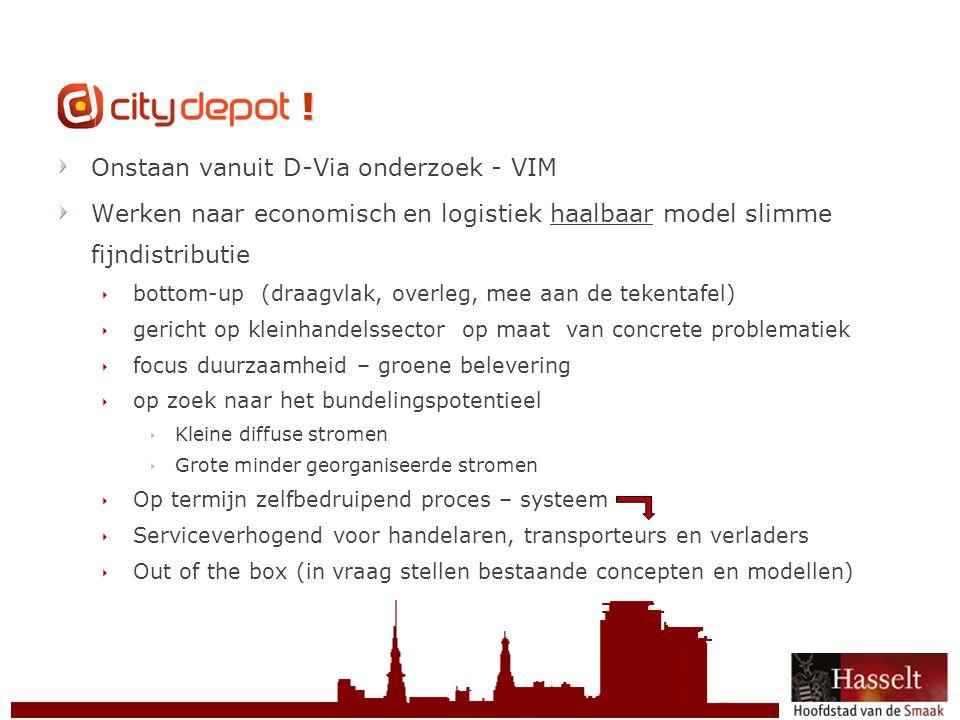 © 2011 Stad Hasselt CityDepot .