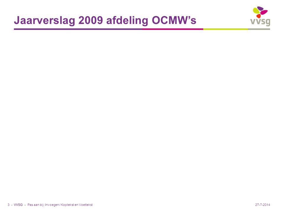 VVSG - Nieuwe rechtspositieregeling personeel Vanaf 1.1.2008 voor de gemeenten (1 jaar); ook effect voor OCMW's VVSG : doe het samen met het OCMW .