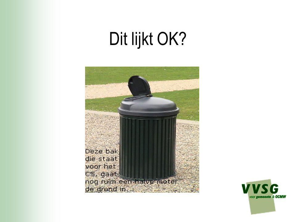 Aanpak openbare netheid = meer dan vuilnisbakjes plaatsen.