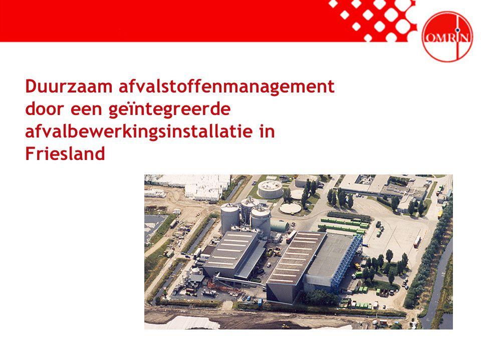 Duurzaam afvalstoffenmanagement door een geïntegreerde afvalbewerkingsinstallatie in Friesland