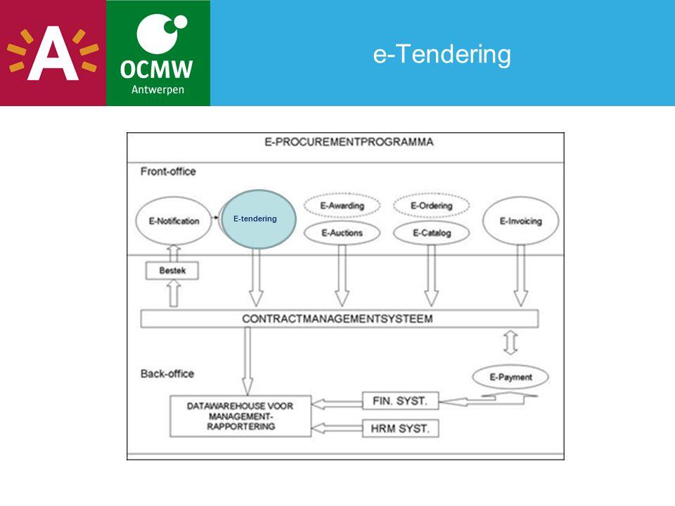 e-Tendering E-tendering
