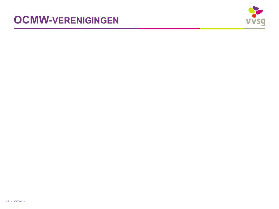 VVSG - OCMW- VERENIGINGEN 24 -