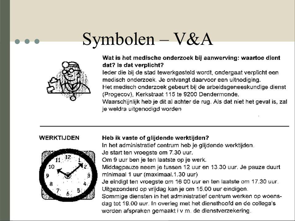 Symbolen – V&A