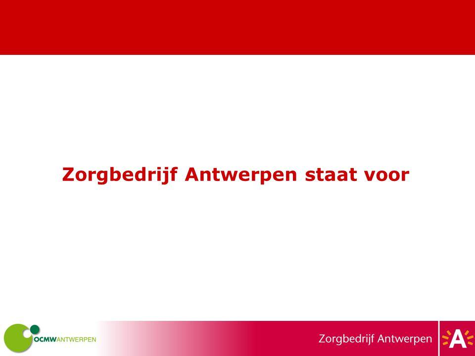 Zorgbedrijf Antwerpen staat voor