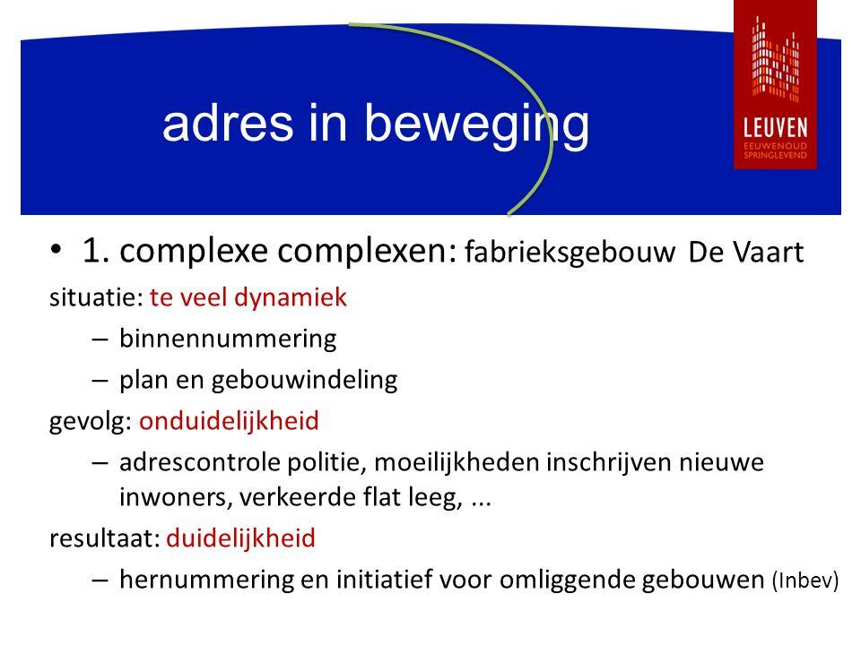 meer info CRAB: www.agiv.be tel. 09 261 52 28 VVSG: Heidi Kestens tel. 02 211 56 41