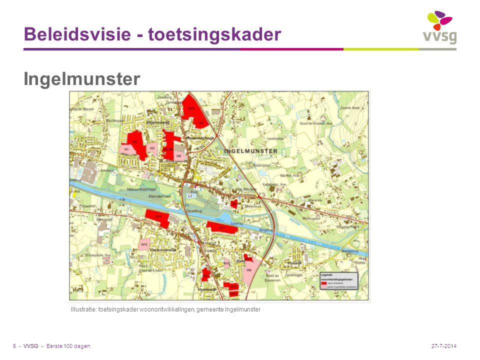 VVSG - Masterplan - Beeldkwaliteitsplan Eerste 100 dagen6 -27-7-2014 Illustratie: Op het toekomstbeeld voor Werkplaatsen wordt duidelijk dat het eigen karakter van deze tuinwijk voor de toekomst wordt bewaard.