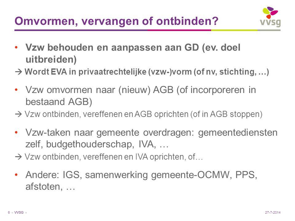 VVSG - Voorbeeld (1) Stel: 10 voorgedragen bestuurders (≠ externe bestuurders!!!) 23 GR-leden, meerderheidsfracties A en B resp.