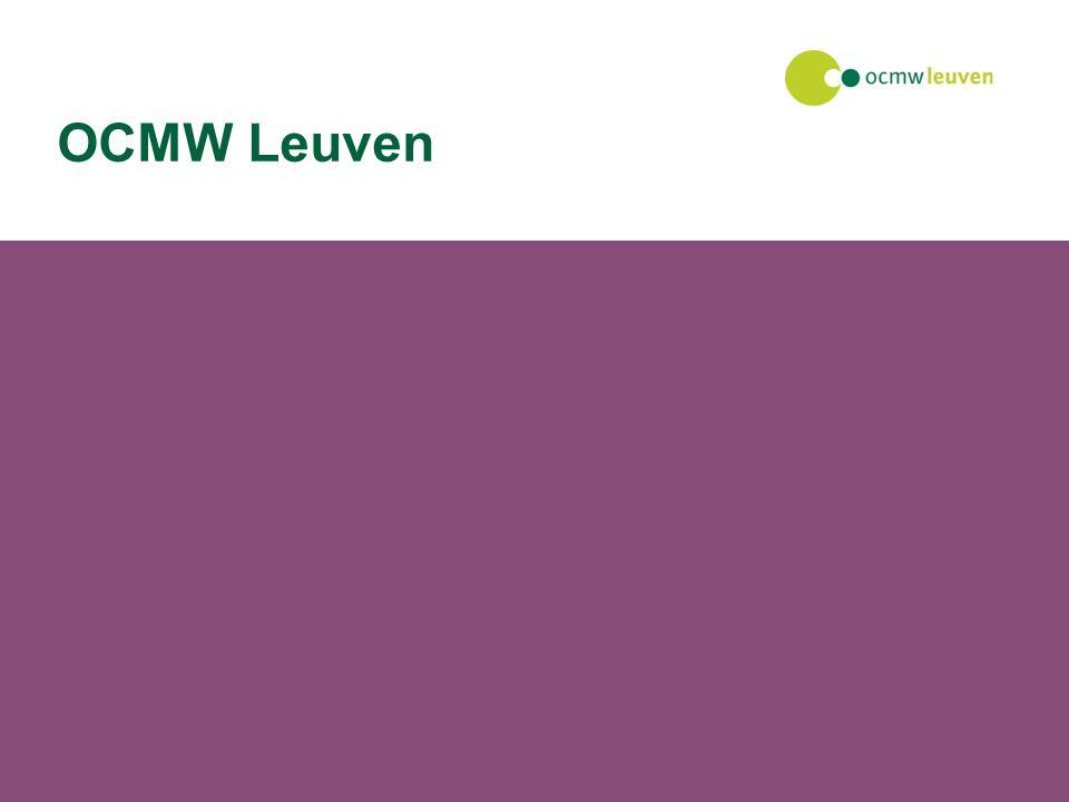 27 juli 2014Facilitaire dienst OCMW Leuven