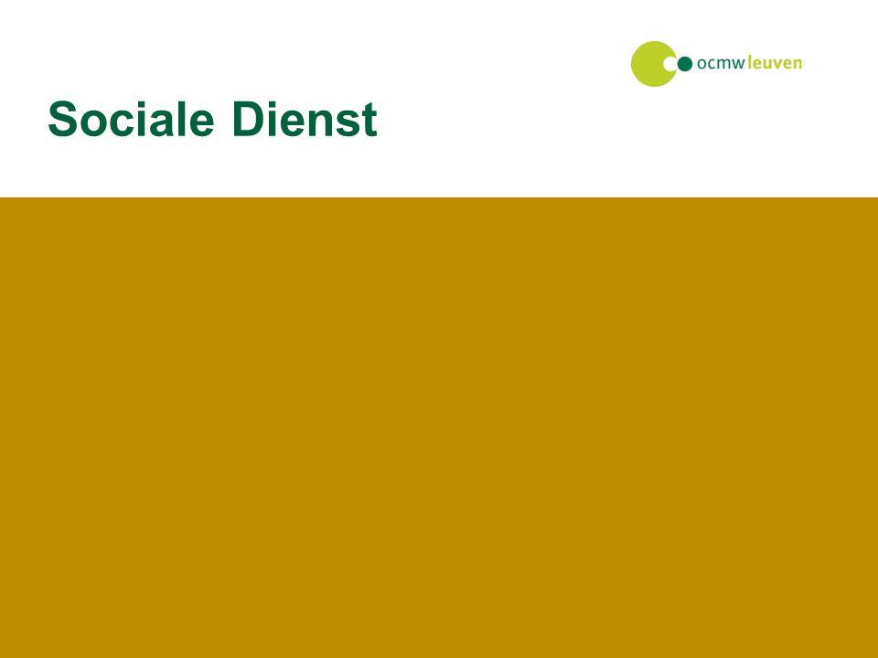27 juli 2014Facilitaire dienst Sociale Dienst