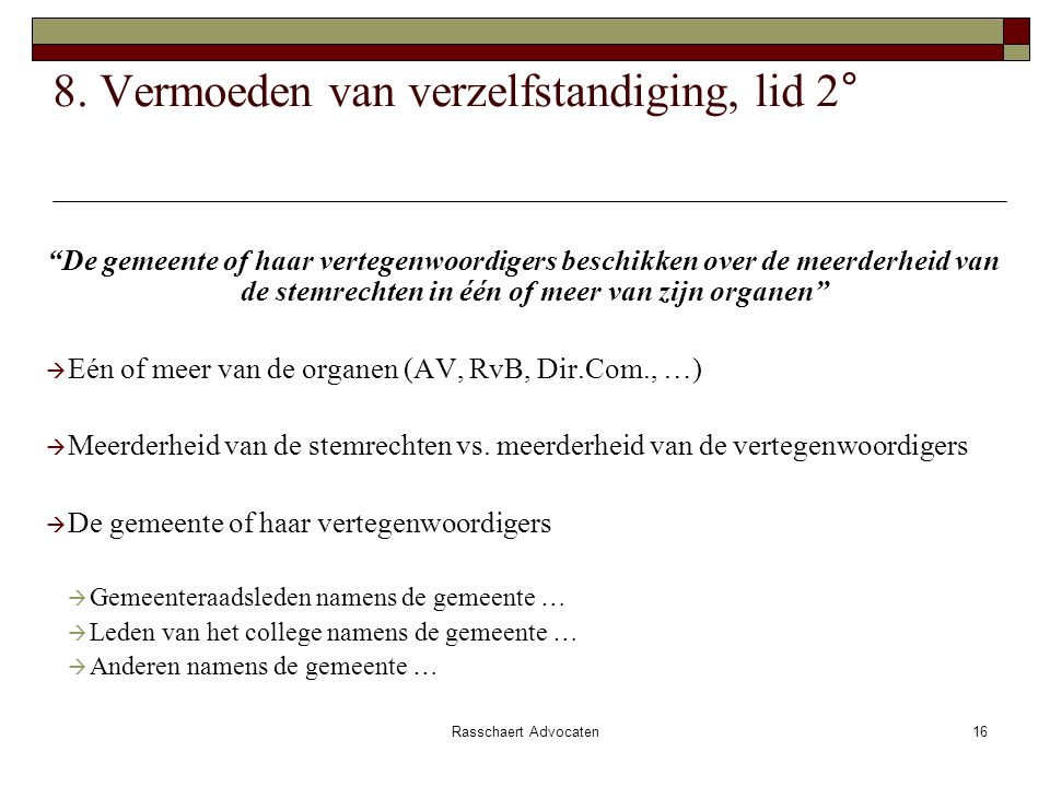 Rasschaert Advocaten16 8.