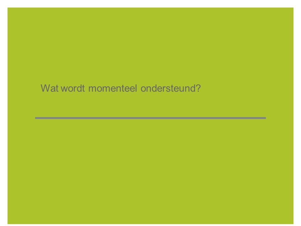 8  Besluit van de Vlaamse Regering (algemeen kader): 1°voorzieningen voor de preventie van afvalstoffen; 2 ° bouwen, uitbreiden, aanpassen en vernieuwen van installaties voor afvalstoffenbeheer die onder meer tot doel hebben: selectie en tijdelijke opslag, overslag, volumereductie, recyclage en hergebruik van afvalstoffen.