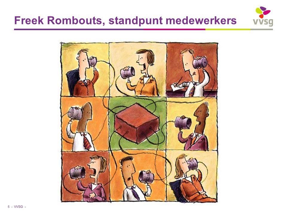 VVSG - Freek Rombouts, standpunt medewerkers 5 -