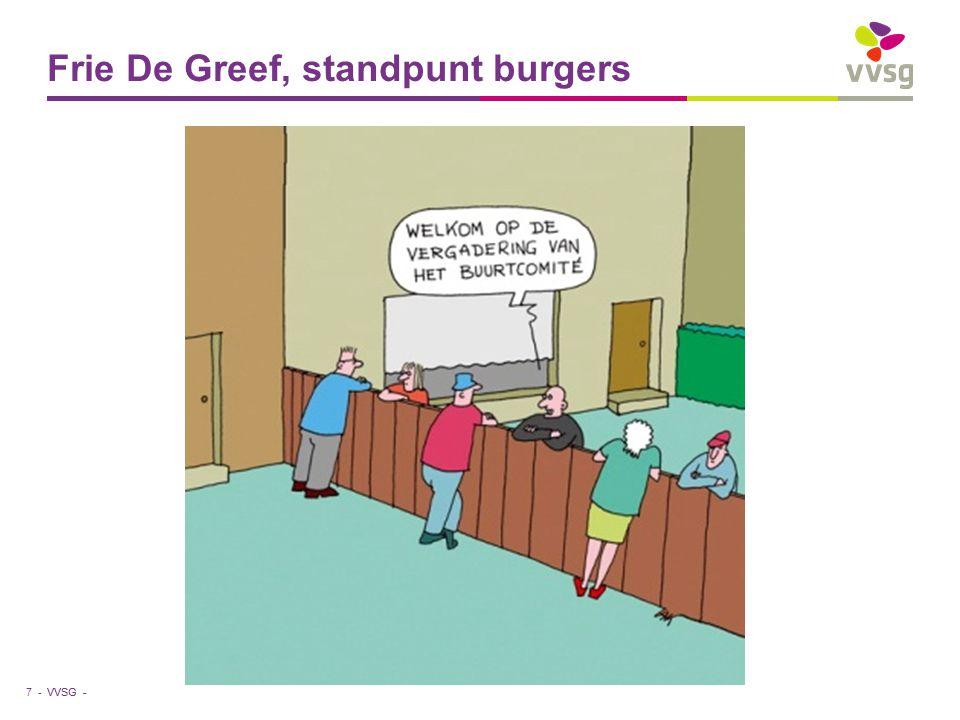 VVSG - Frie De Greef, standpunt burgers 7 -