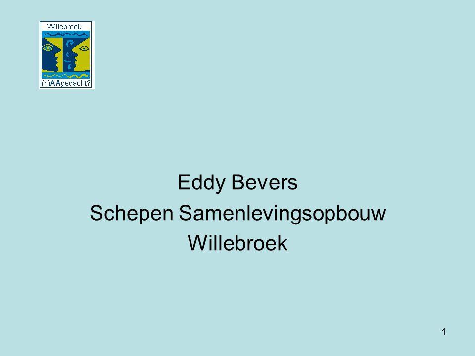 1 Eddy Bevers Schepen Samenlevingsopbouw Willebroek