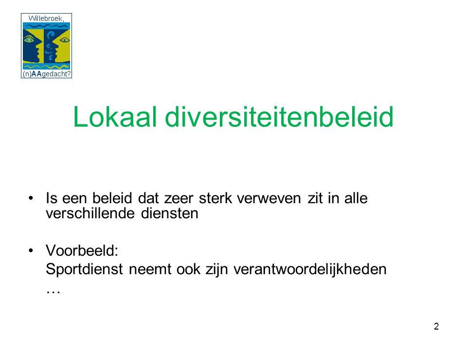33 Conclusie 'Willebroek (n)AAgedacht?' 2008 De gemeente Willebroek is van ons allemaal en die boodschap moet uitgedragen worden door het bestuur.
