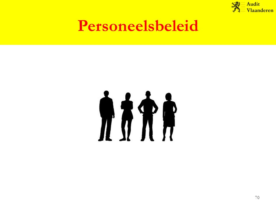 Personeelsbeleid 70