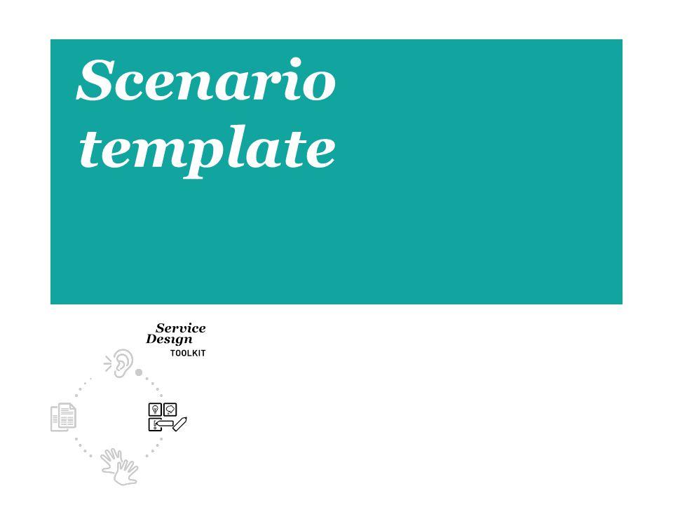 1 Scenario template