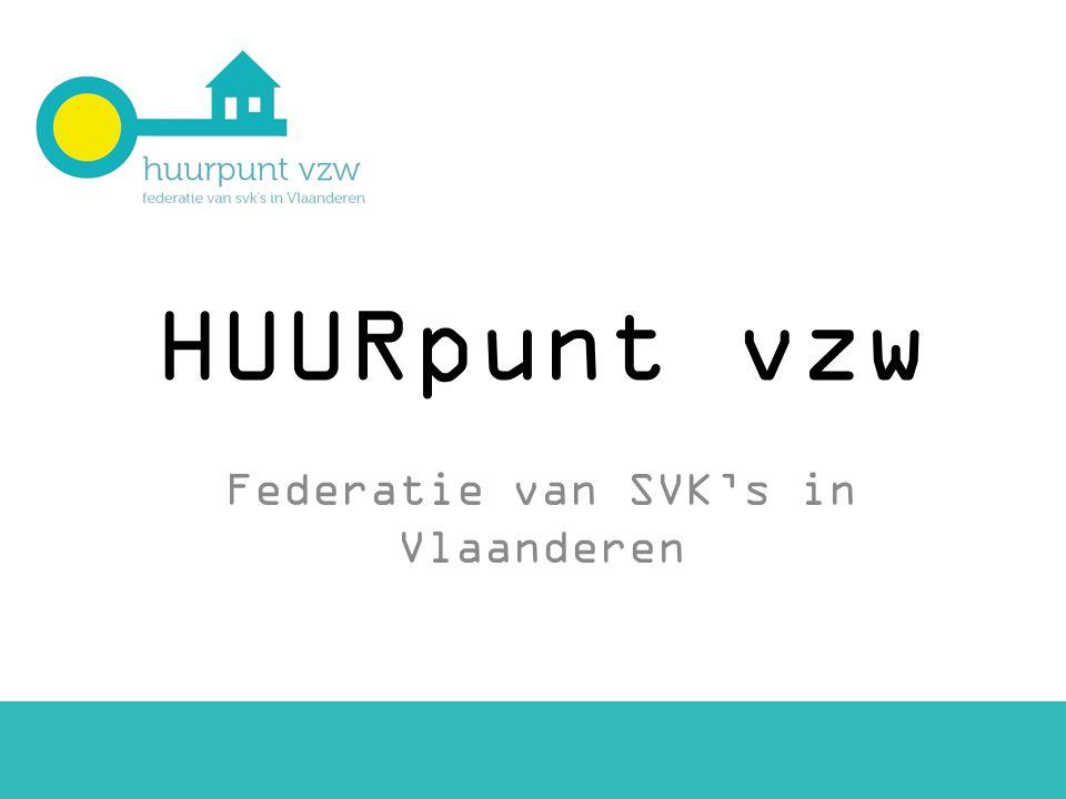 HUURpunt vzw Federatie van SVK's in Vlaanderen