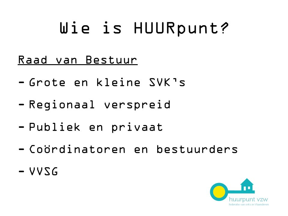 Wie is HUURpunt.