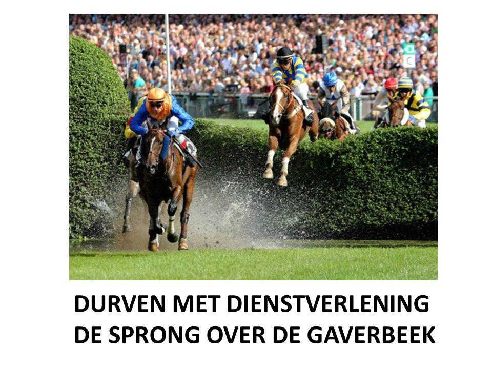DURVEN MET DIENSTVERLENING DE SPRONG OVER DE GAVERBEEK