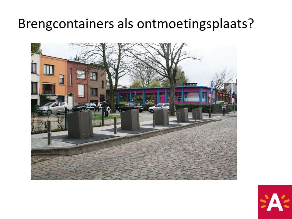 Brengcontainers als ontmoetingsplaats?