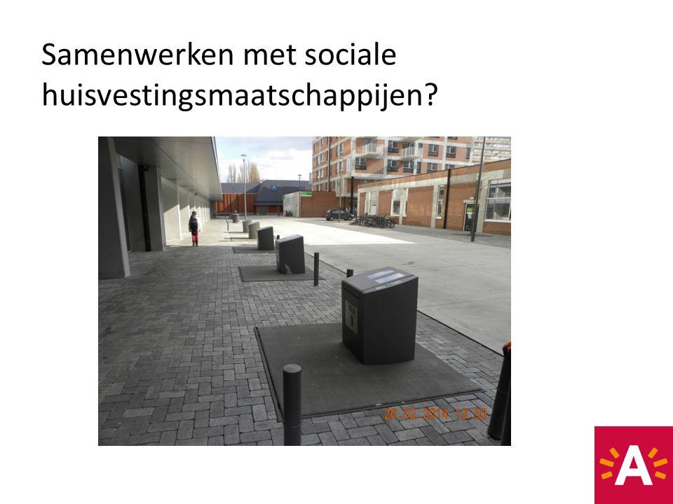 Samenwerken met sociale huisvestingsmaatschappijen?