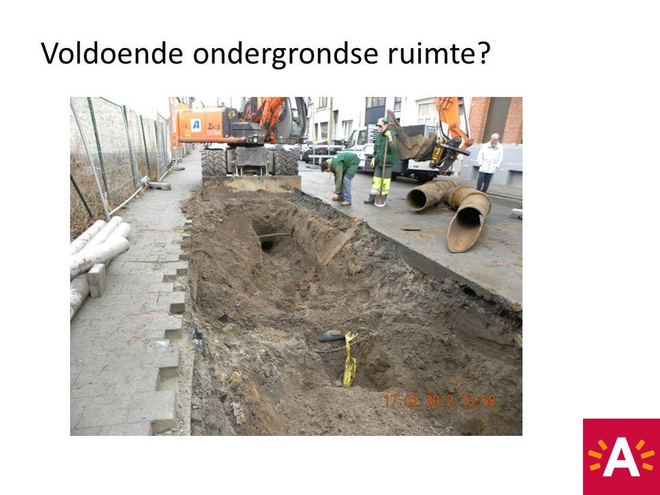 Voldoende ondergrondse ruimte?
