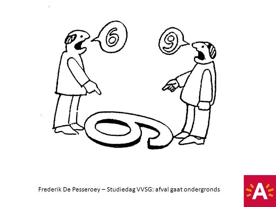 Frederik De Pesseroey – Studiedag VVSG: afval gaat ondergronds