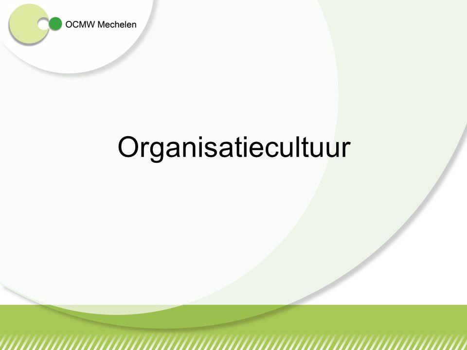 Motivatie en betrokkenheid Doelstellingen realiseren Samenwerken Respect voor het beleid Bij stad en ocmw werk je actief mee om de missie waar te maken