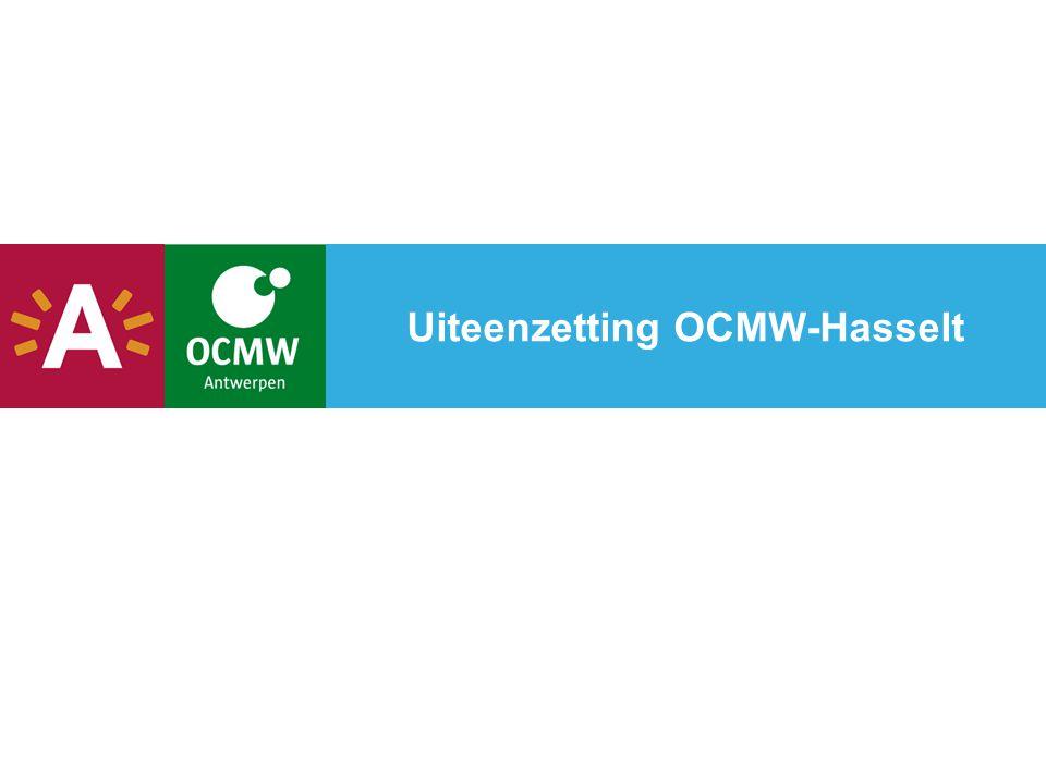 Uiteenzetting OCMW-Hasselt