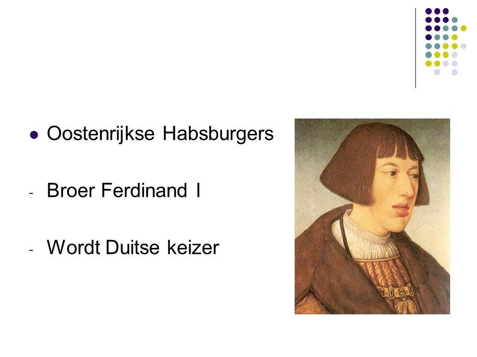 Oostenrijkse Habsburgers - Broer Ferdinand I - Wordt Duitse keizer