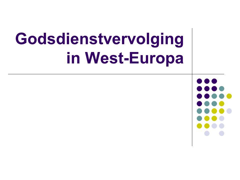 Godsdienstvervolging in West-Europa
