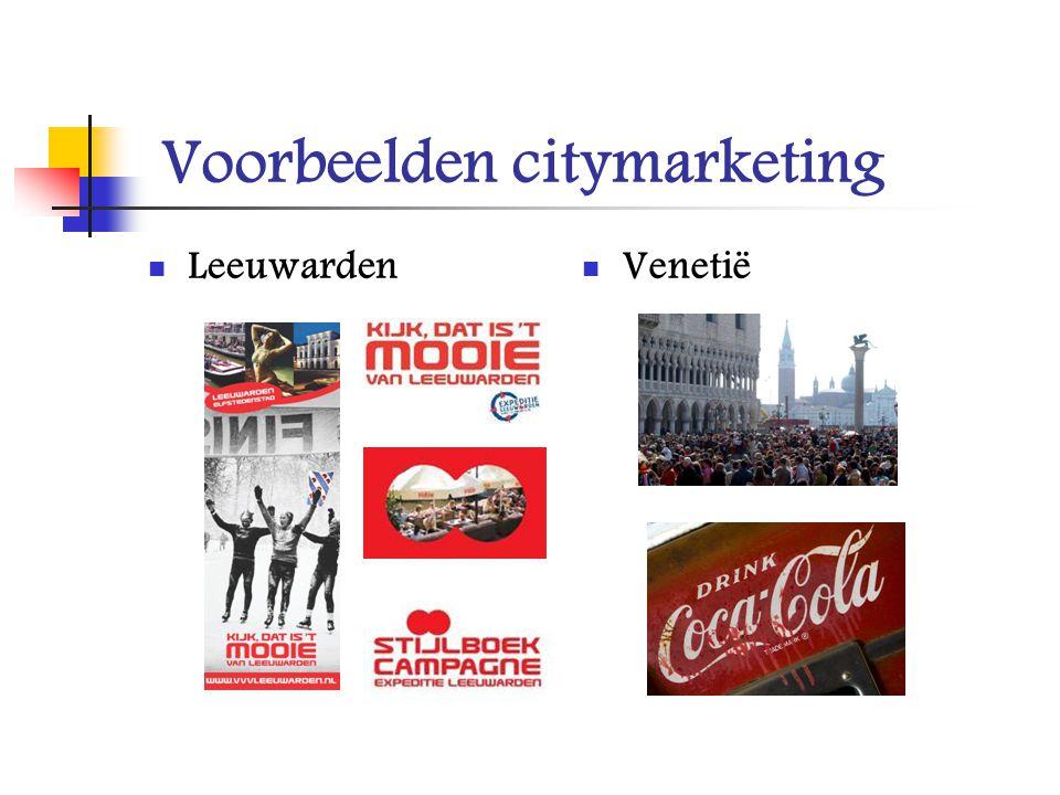 Voorbeelden citymarketing Leeuwarden Venetië