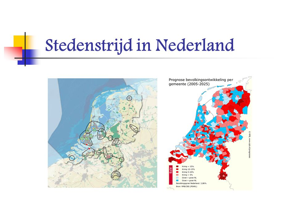 Stedenstrijd in Nederland