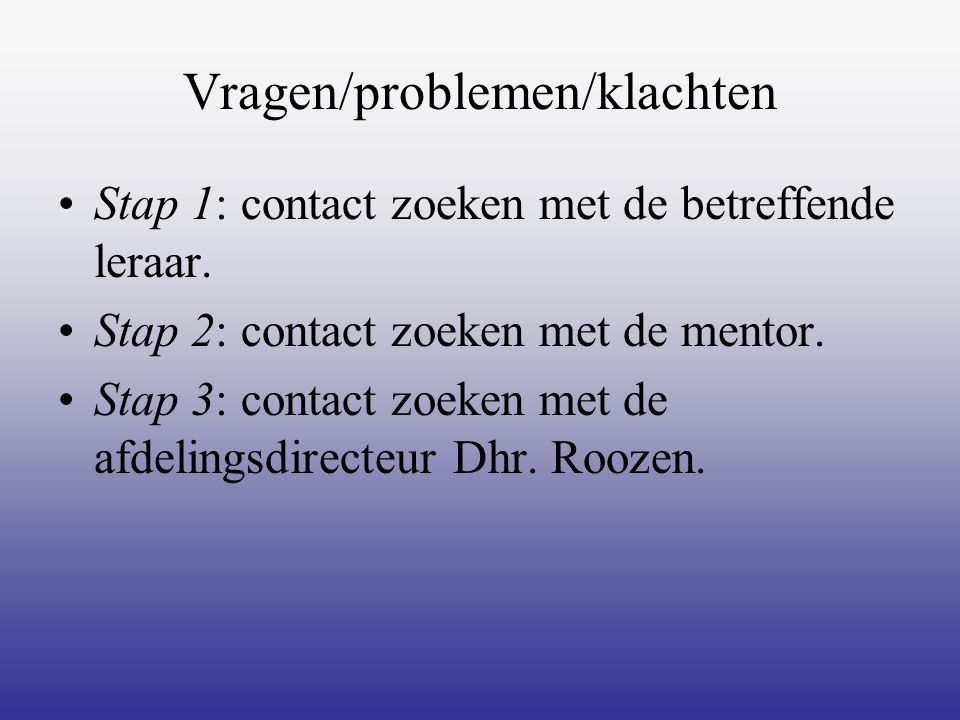 Zorg Counselor: A.Swenker Vertrouwensarts Jeugdverpleegkundige C.