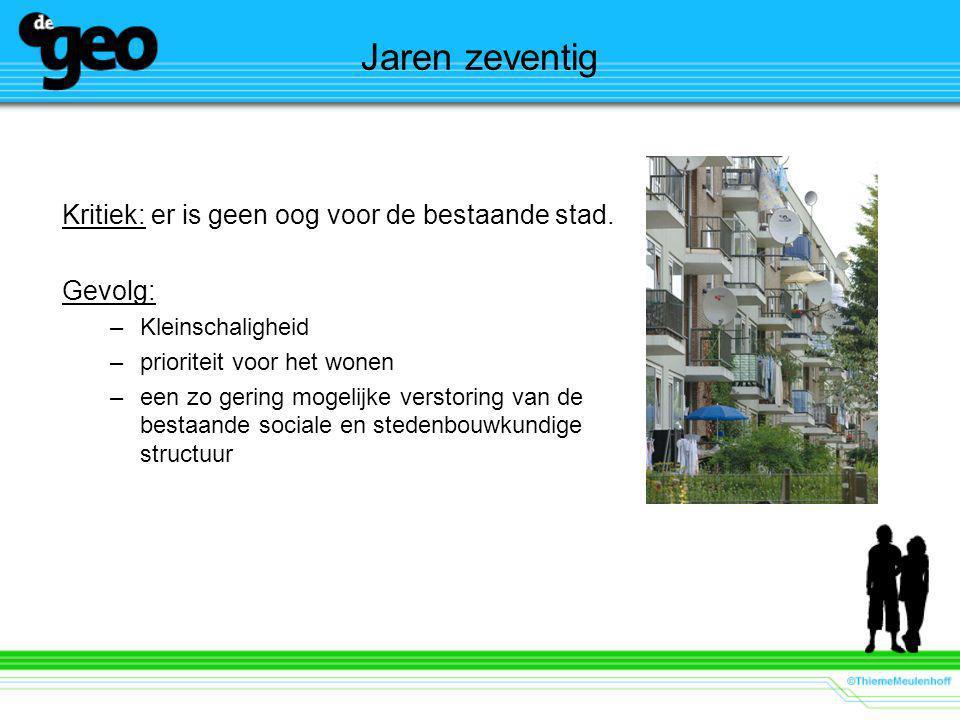 Bouwen voor de buurt Doel: –Aanpakken van grote kwaliteitsachterstand in de verkrotte vooroorlogse wijken door verbetering van bestaande woningen.