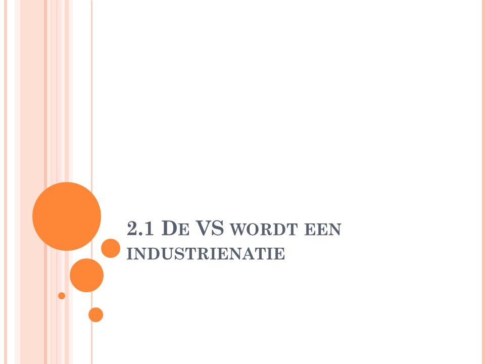 2.1 D E VS WORDT EEN INDUSTRIENATIE