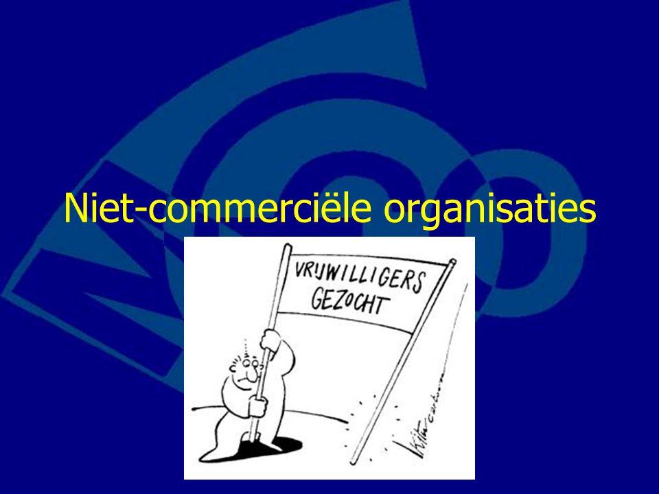 Niet-commerciële organisaties