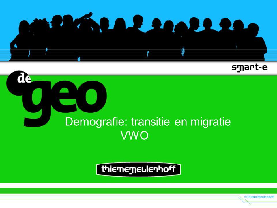 Demografie: transitie en migratie VWO