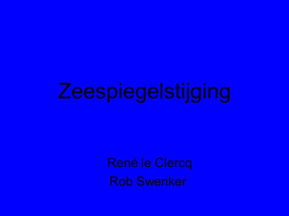 Zeespiegelstijging René le Clercq Rob Swenker