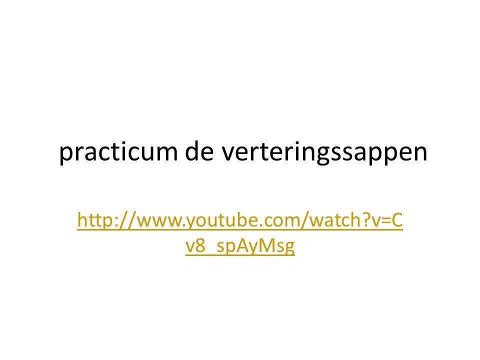 practicum de verteringssappen http://www.youtube.com/watch?v=C v8_spAyMsg