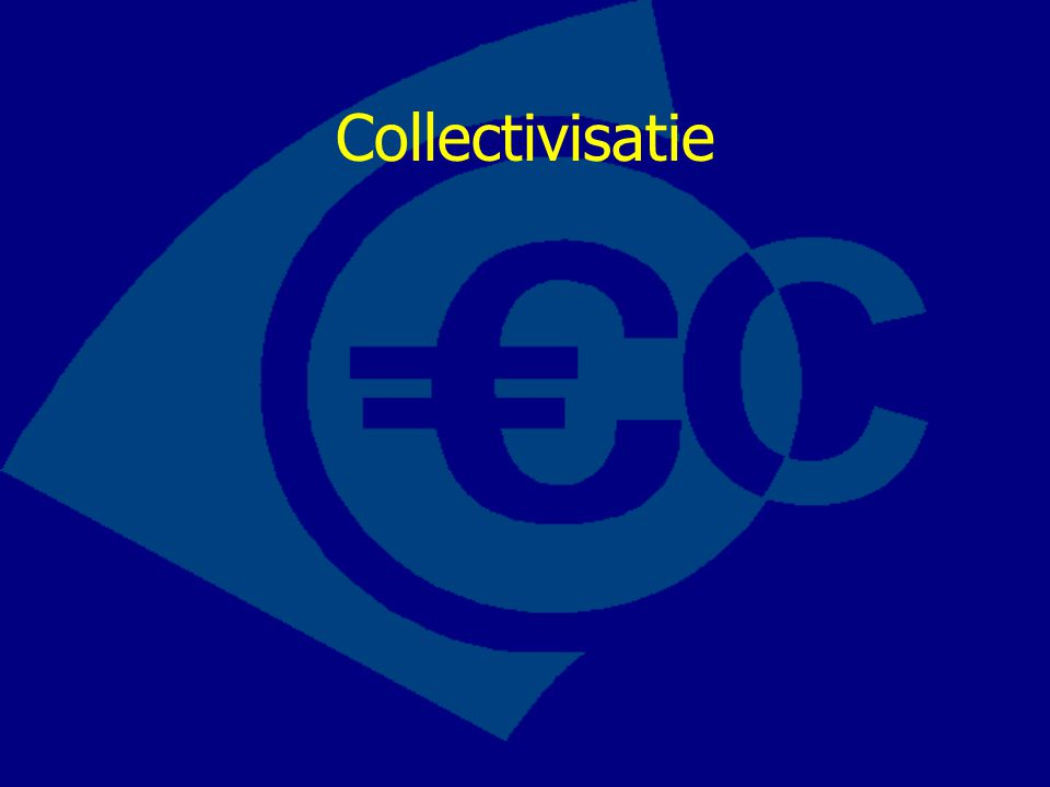 Collectivisatie