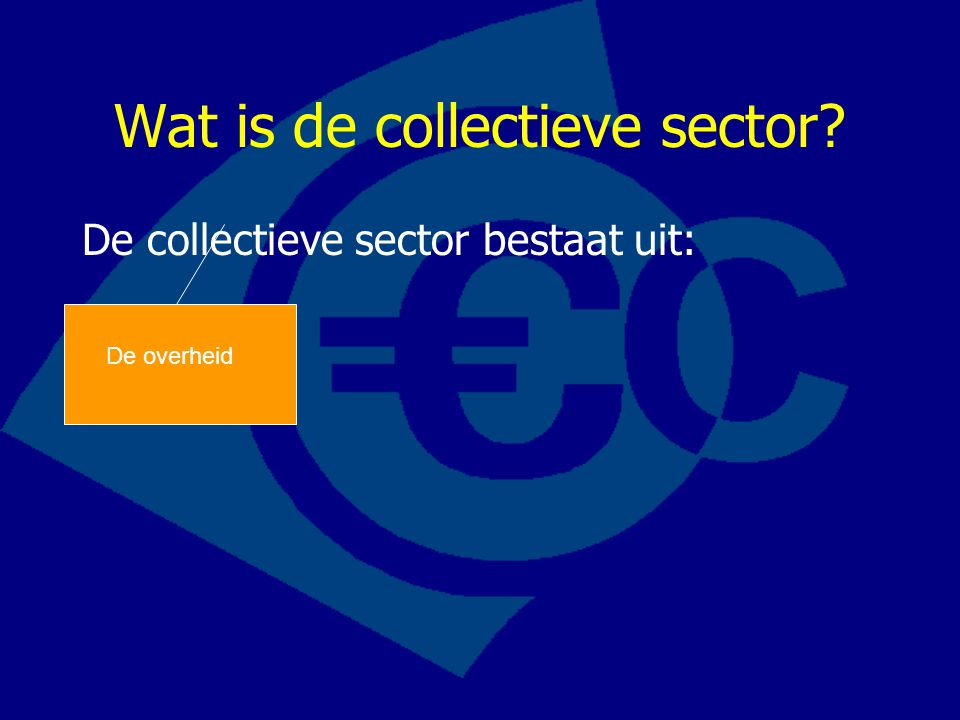 Collectieve sector i.t.t.