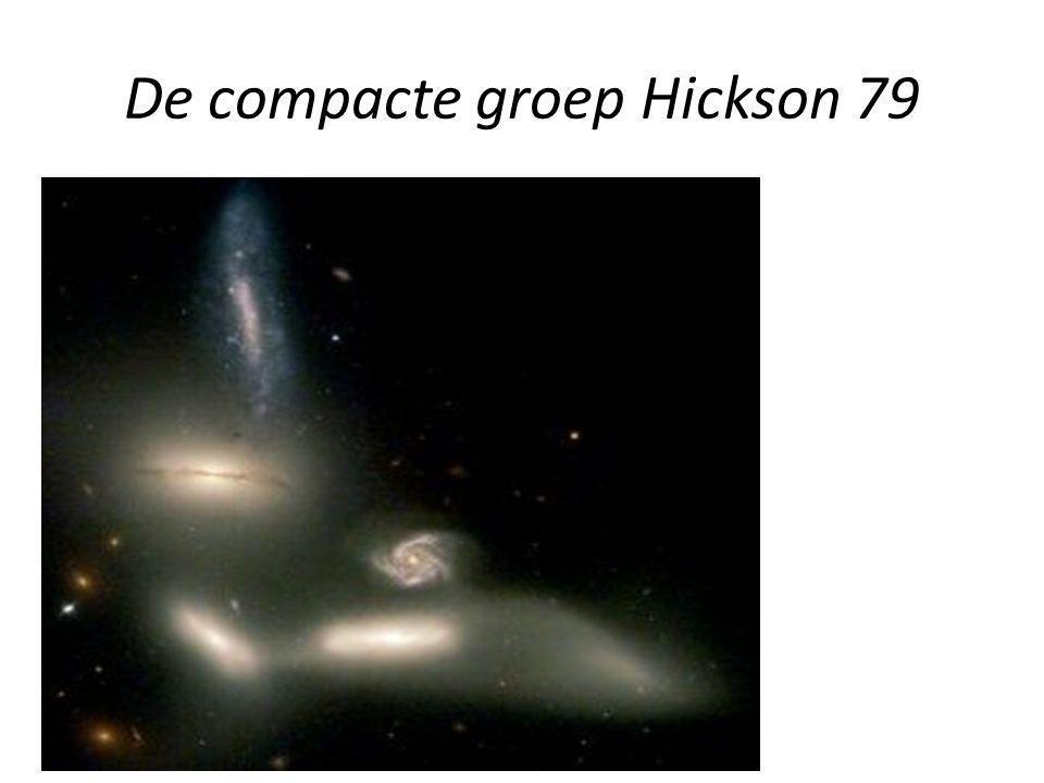 De compacte groep Hickson 79