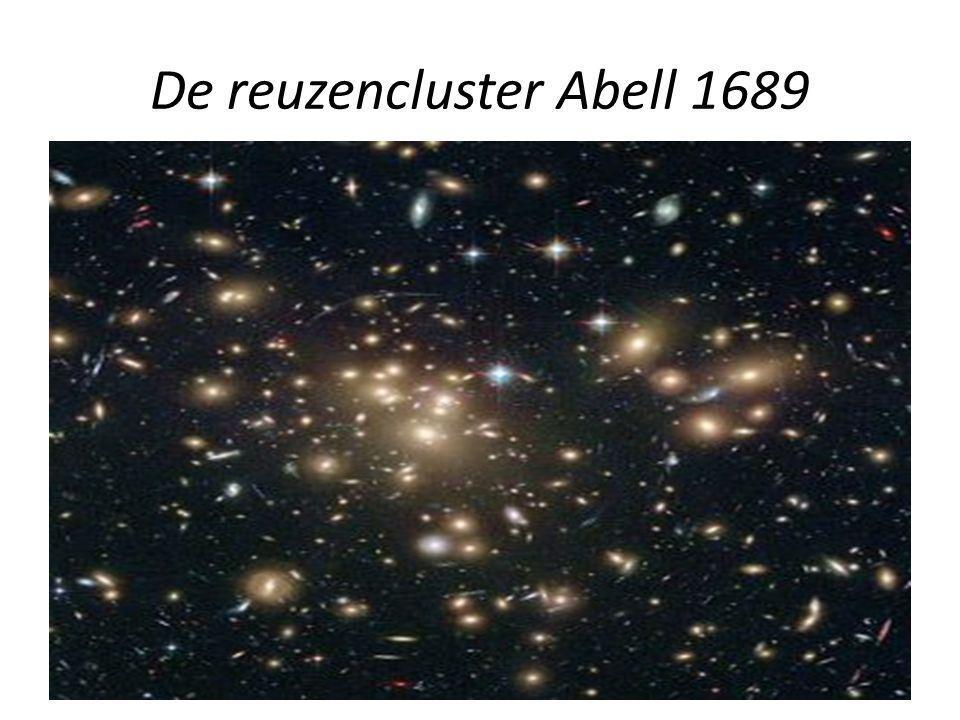 De reuzencluster Abell 1689
