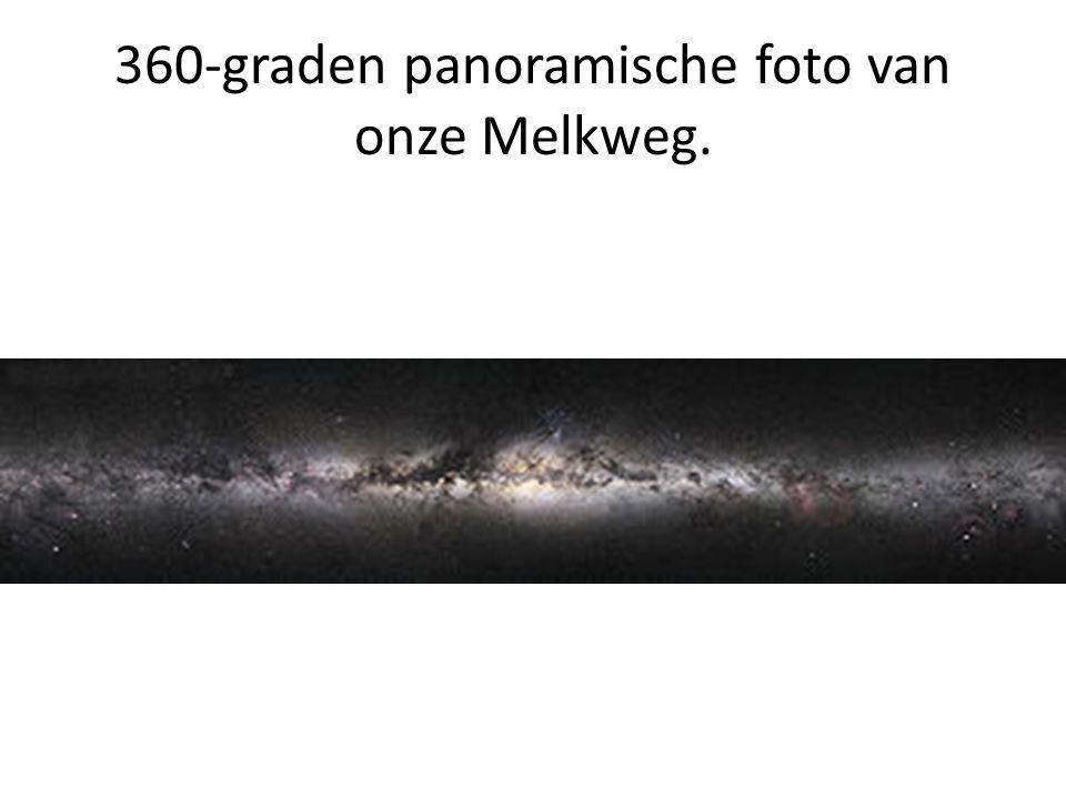360-graden panoramische foto van onze Melkweg.