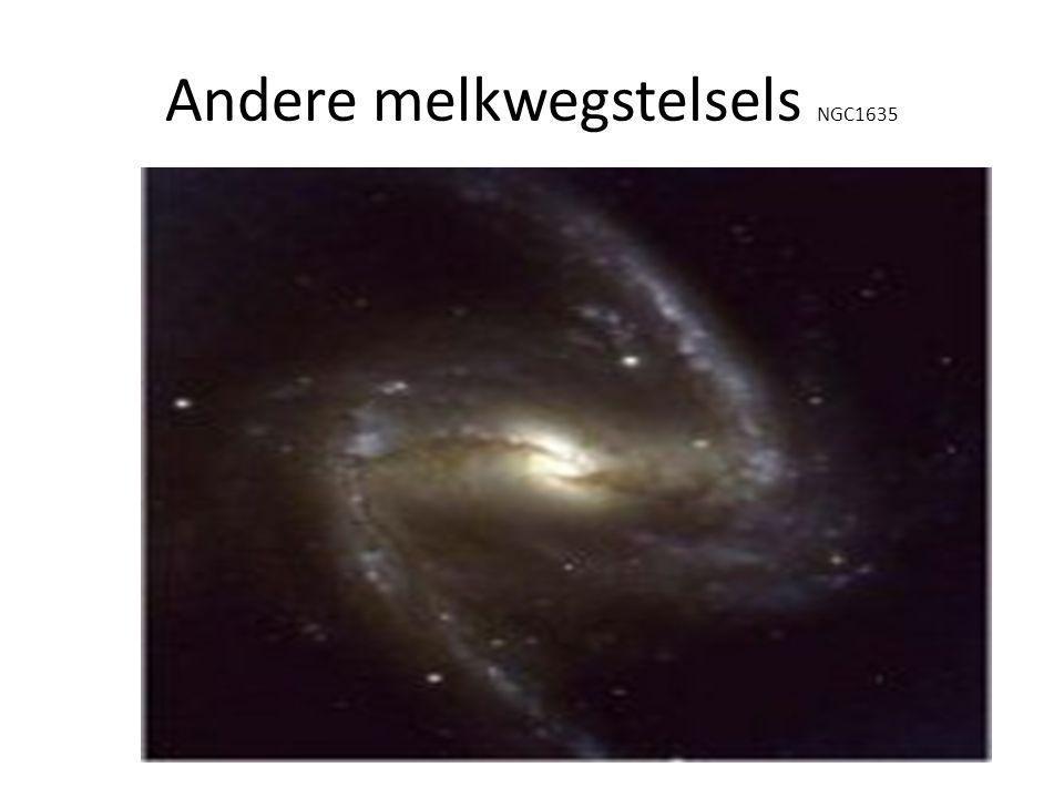 Andere melkwegstelsels NGC1635
