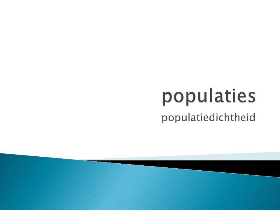 populatiedichtheid