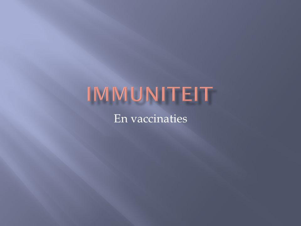 En vaccinaties