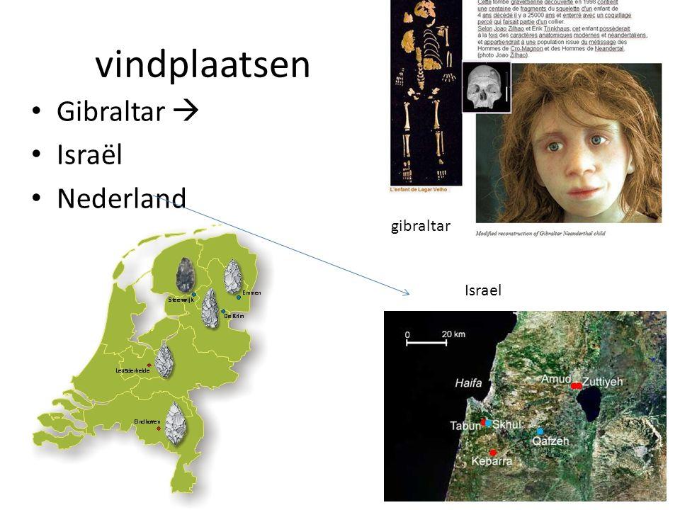vindplaatsen Gibraltar  Israël Nederland Israel gibraltar